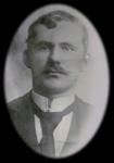 Henrik Severin Hansen (1880-1919), gift med Cecilie Amalie og far til min farmor.